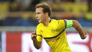 Mario Götze Borussia Dortmund BVB Brügge captain