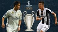 UCL Final GFX Real Madrid Cristiano Ronaldo Juventus Paulo Dybala