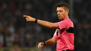 Arbitro Gianluca Rocchi