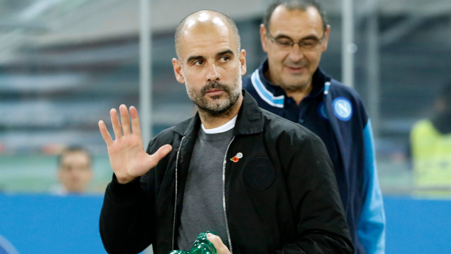 Video: Man City had 'to suffer' during Napoli win - Guardiola