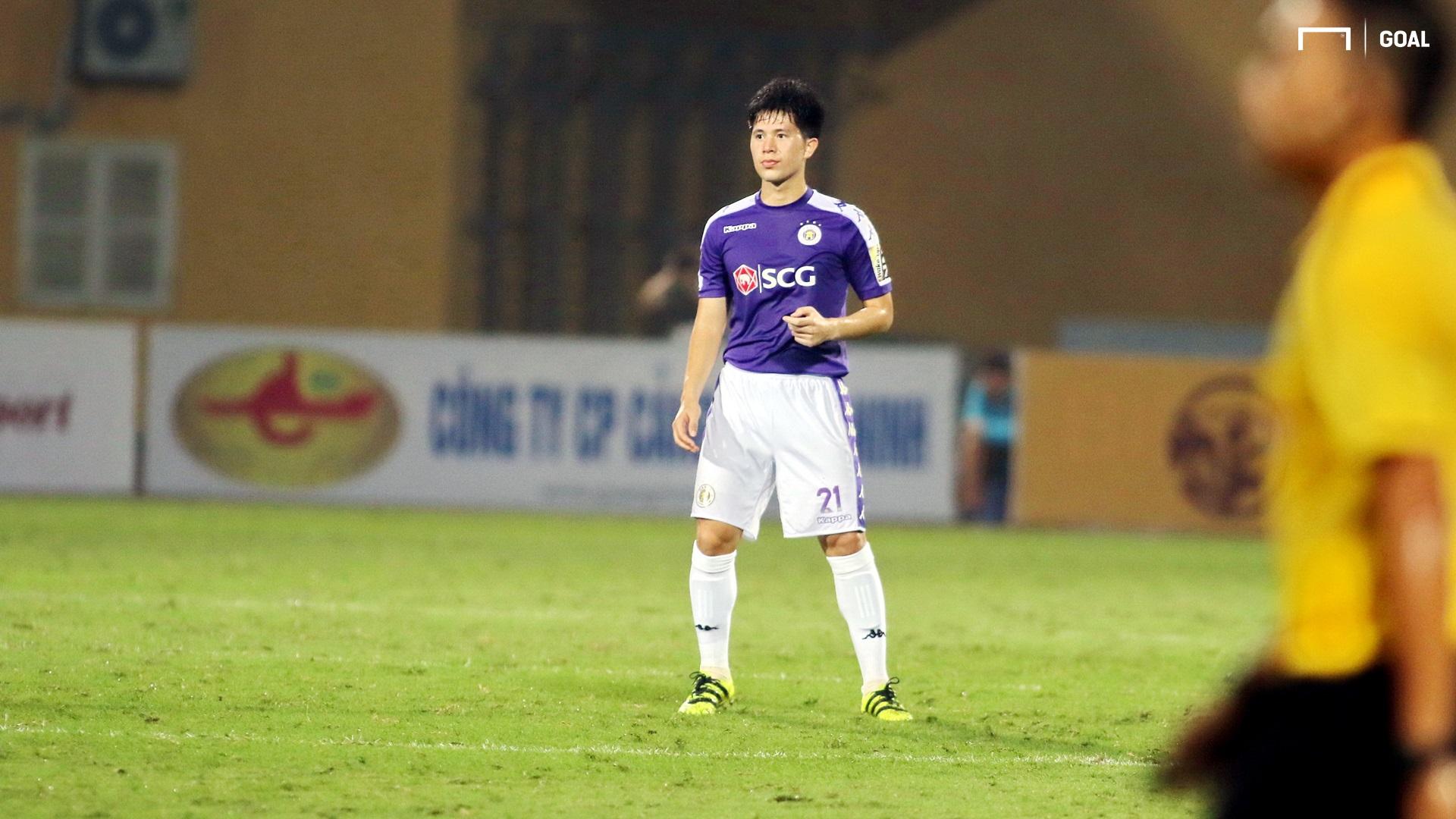Tran Dinh Trong Ha Noi vs Hai Phong V.League 2019