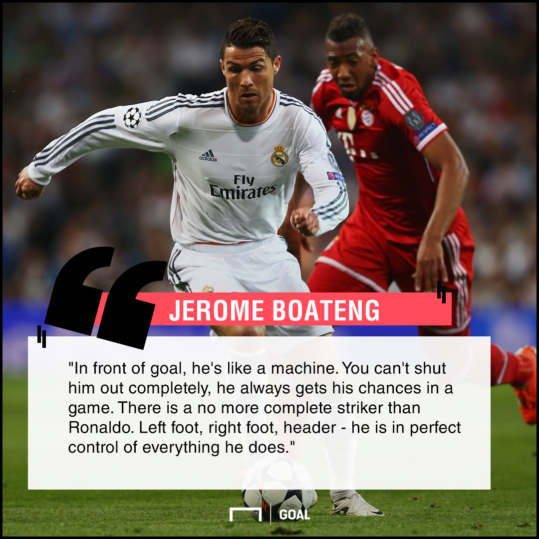 Cristiano Ronaldo a machine Jerome Boateng