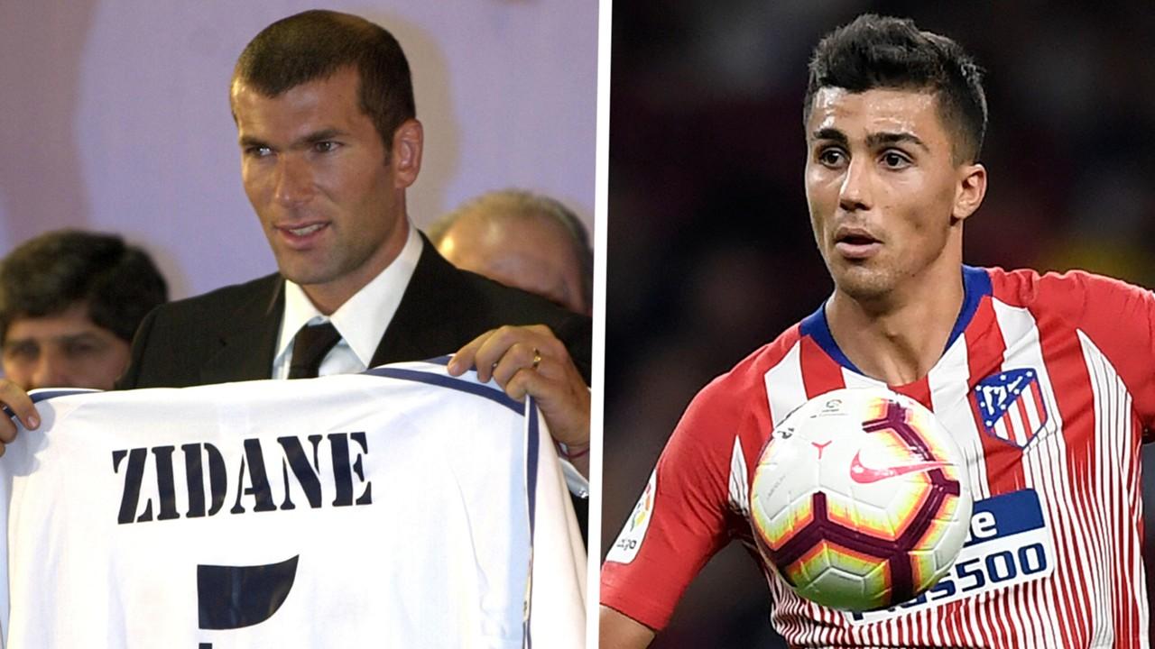 Real Madrid news: 'I had a Zinedine Zidane shirt as a kid!' - Atletico Madrid star Rodri idolised France legend
