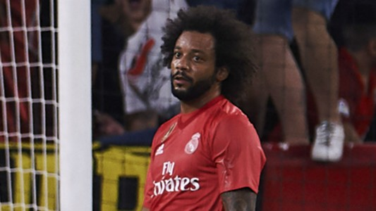 Marcelo Real Madrid Sevilla 26 09 2018