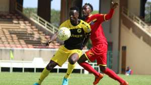 Tusker v Mount Kenya United FC.