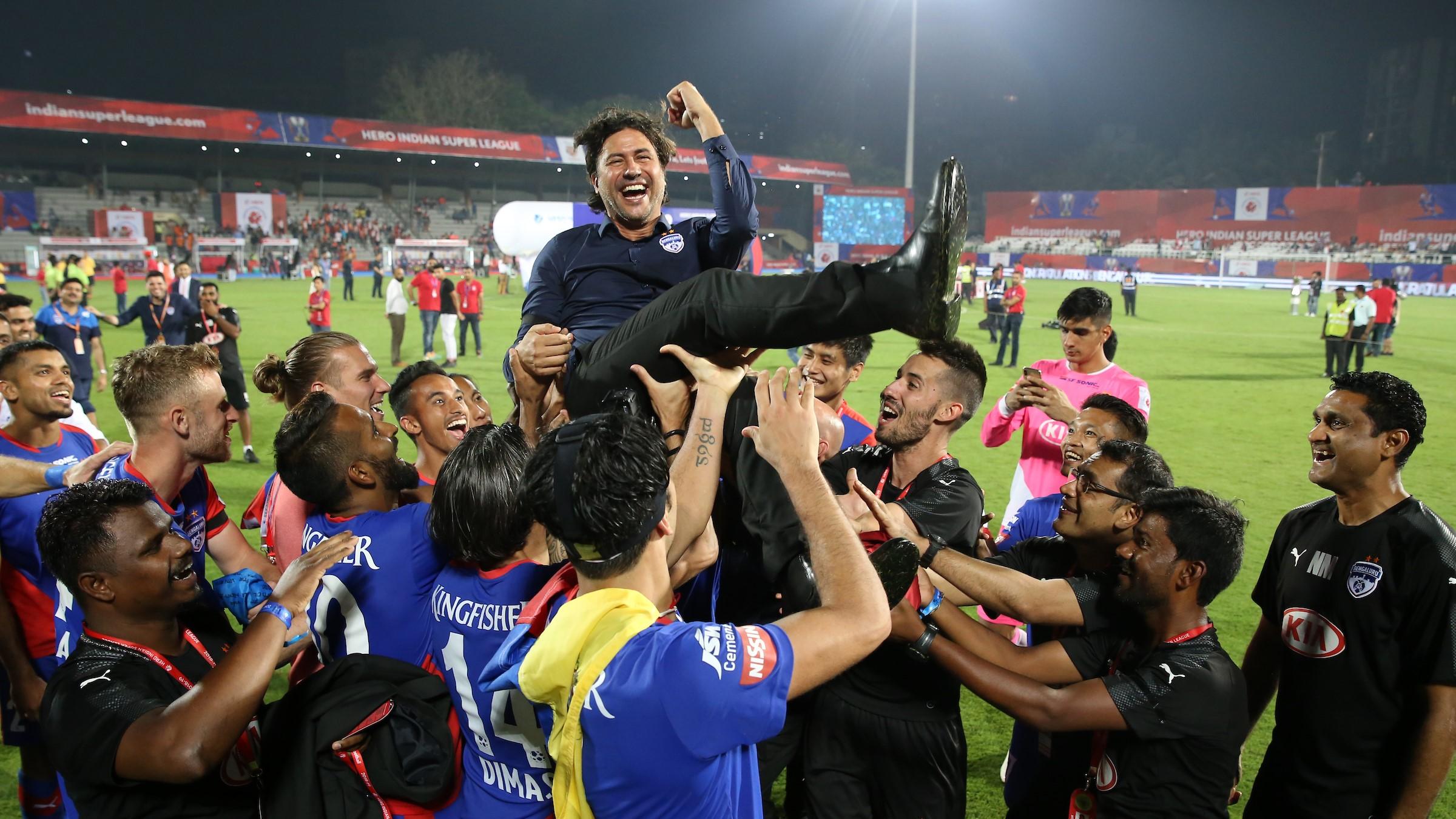 Carles Cudrat Bengaluru FC Goa ISL final