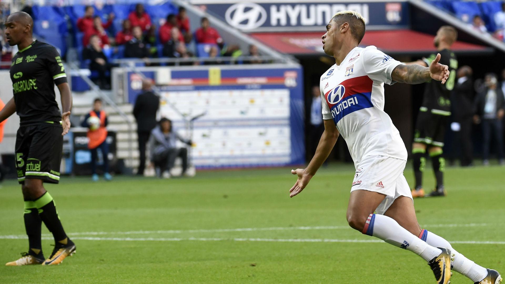 Mariano Diaz Lyon Guingamp Ligue 1 10092017