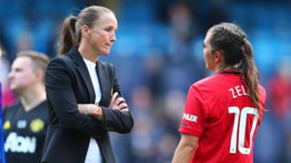 Casey Stoney Katie Zelem Manchester United 2019