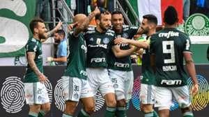 Edu Dracena gol Palmeiras Vitória Brasileirão Série A 02122018