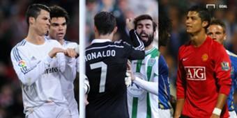 Cristiano Ronaldo espulsioni
