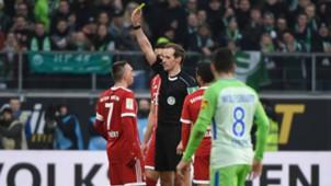ONLY GERMANY Franck Ribery Bayern Munchen VfL Wolfsburg Bundesliga 17022018