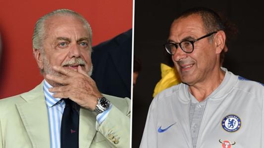 Aurelio De Laurentiis, Maurizio Sarri
