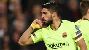 Lionel Messi Luis Suarez Manchester United Barcelona UCL 10042019