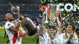 Campeones Libertadores y Concacaf