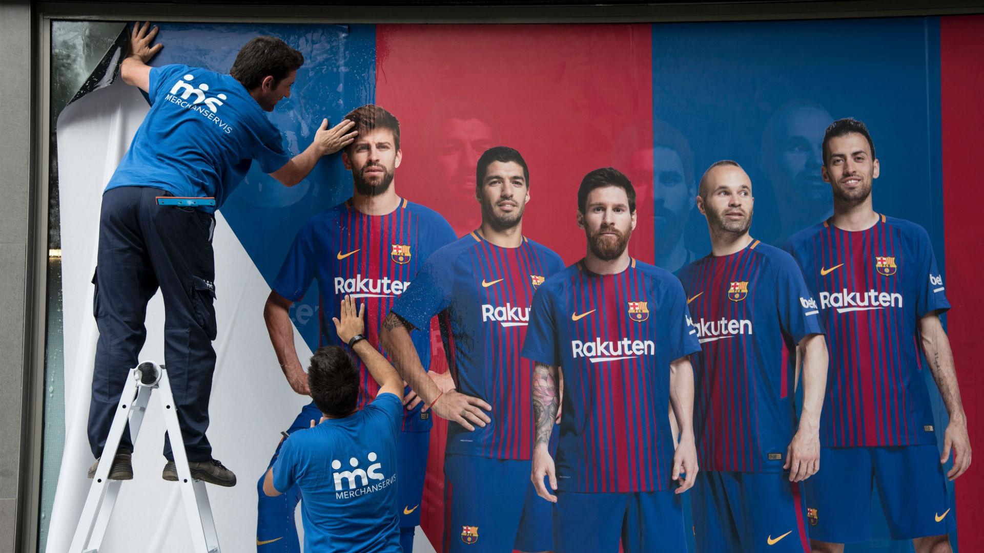 Barca Neymar posters