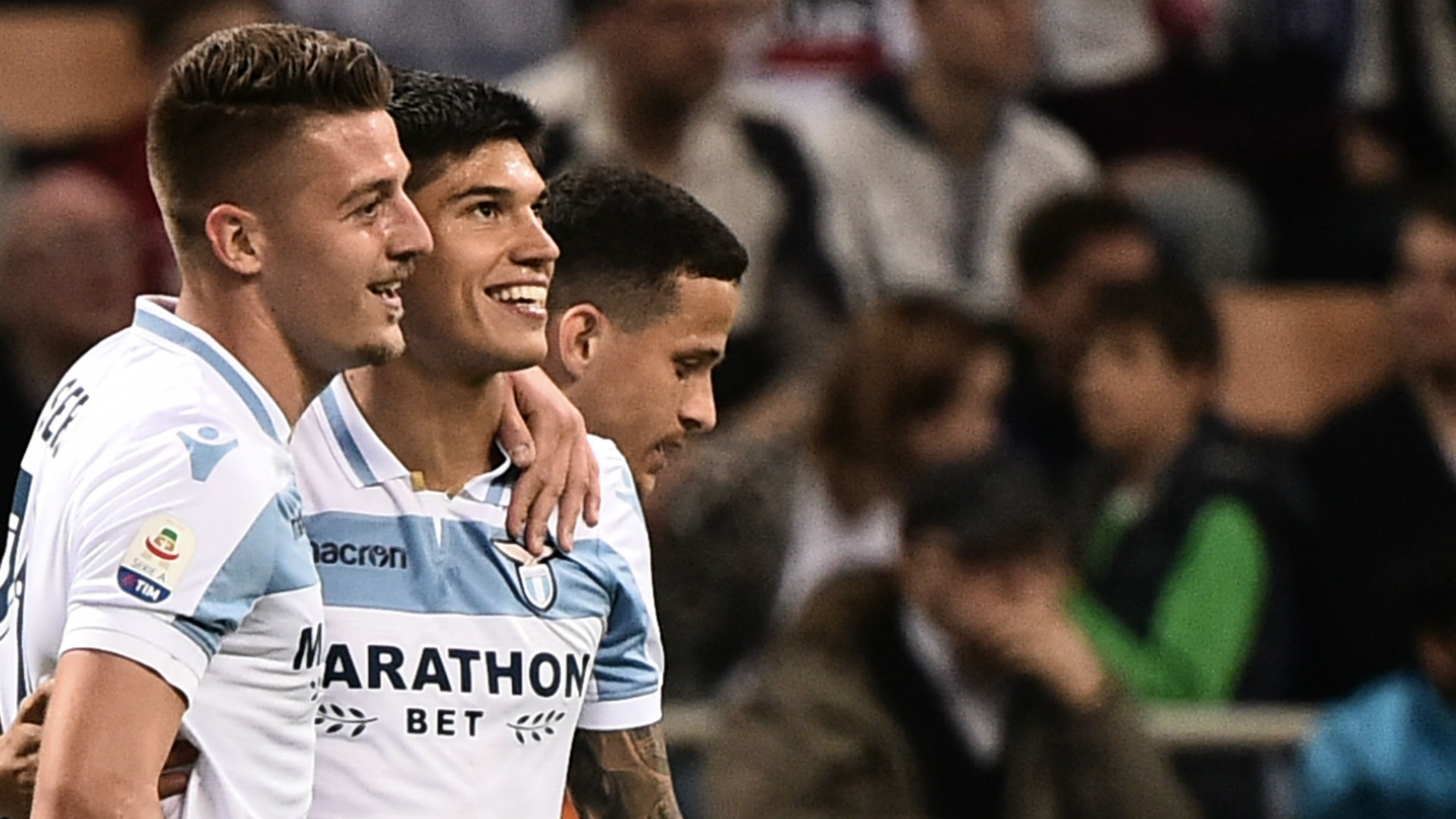 Joaquin Correa Sergej Milinkovic-Savic Inter Lazio