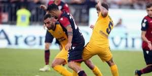 Marco Sau Cagliari Verona Serie A