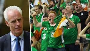 Mick McCarthy Ireland Fans Split