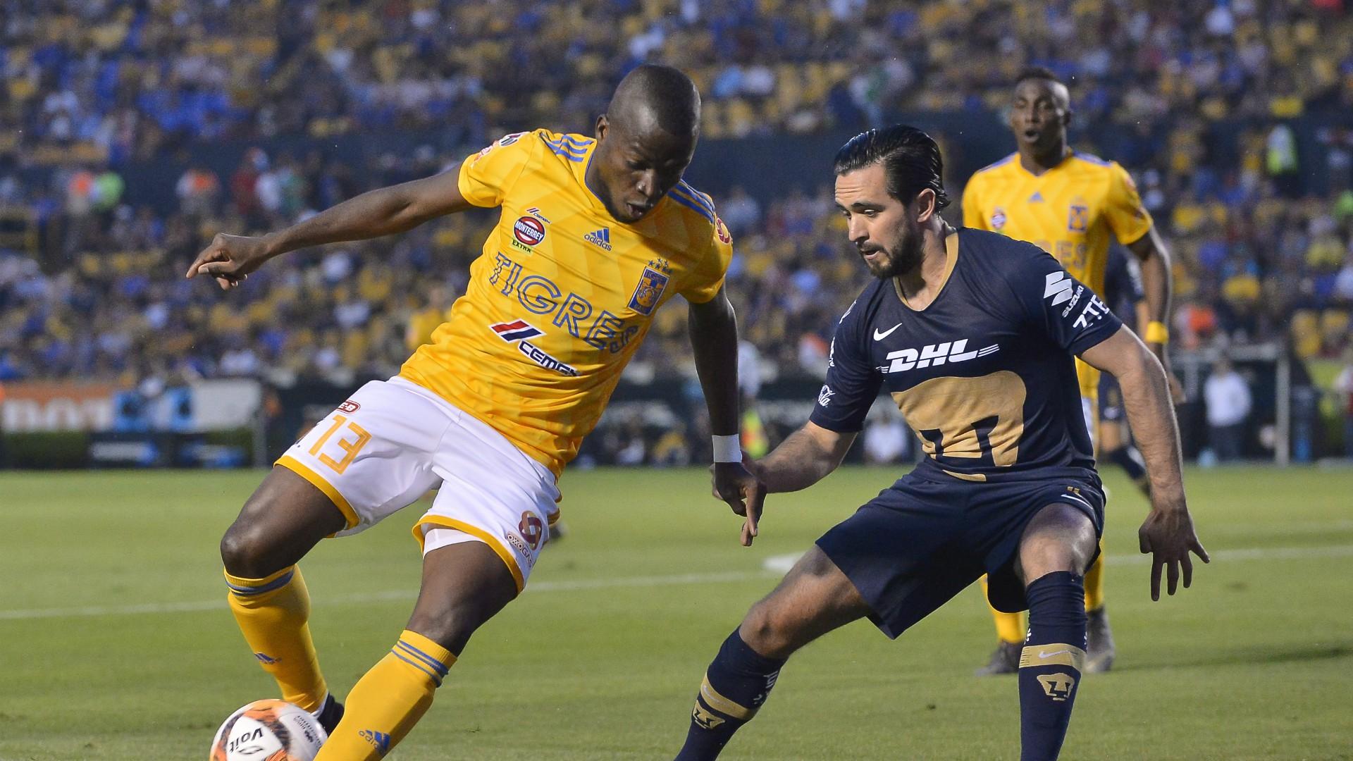 Tigres Pumas Enner Valencia Luis Quintana