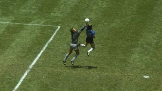 Diego Maradona Hand of God