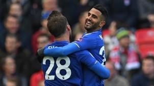 Riyad Mahrez Leicester City Stoke City