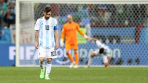 Lionel Messi Willy Caballero Argentina Croatia World Cup 2018