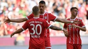 Sandro Wagner Niklas Dorsch Bayern Munchen Eintracht Frankfurt Bundesliga 28042018