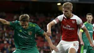 Emile Smith Rowe Arsenal 2018-19