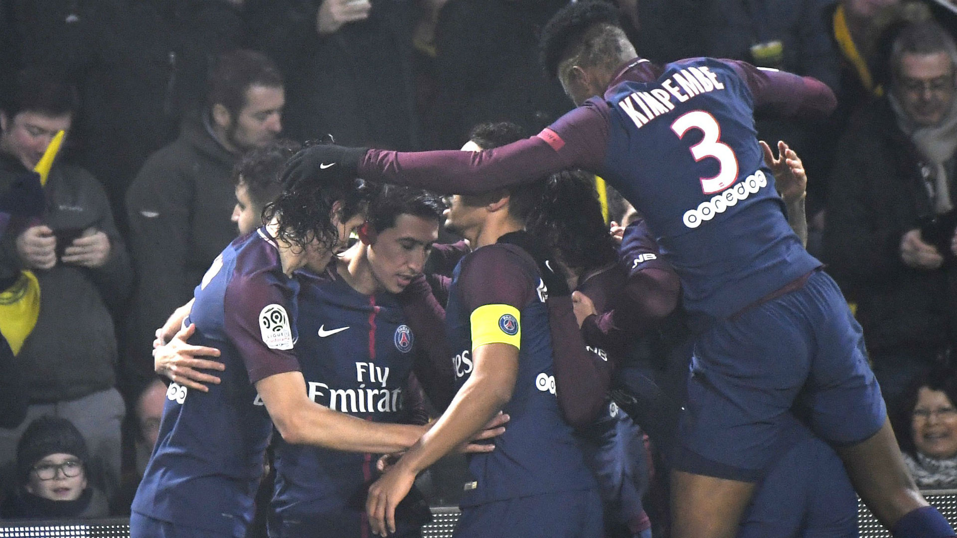 Nantes PSG Ligue 1 14012018