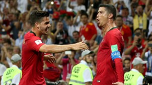 André Silva Cristiano Ronaldo Portugal