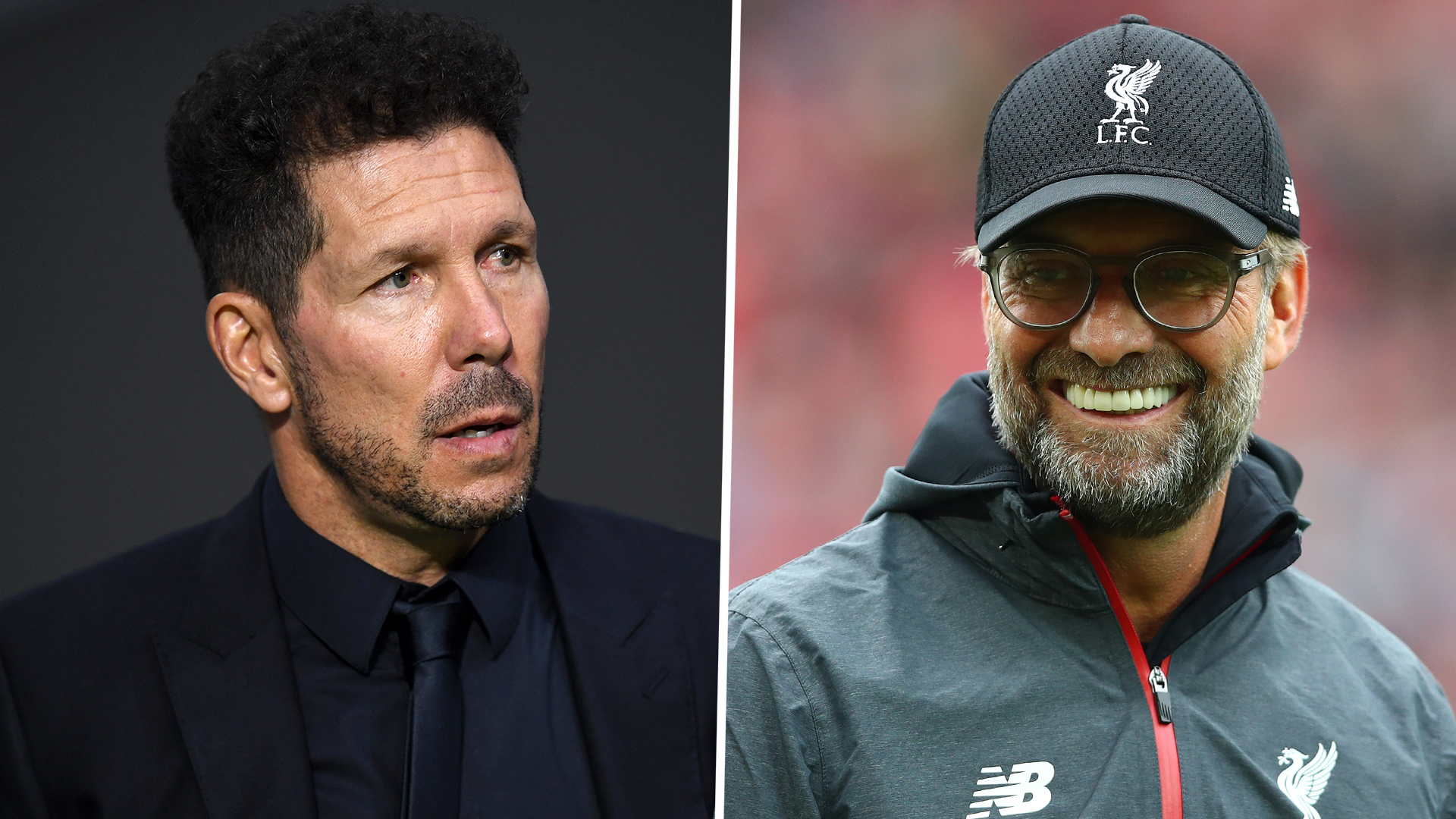 Simeone reveals Liverpool boss Klopp is the rival manager he admires most