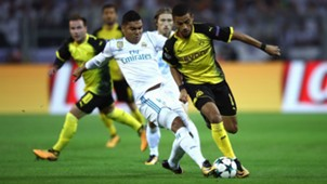 Jeremy Toljan Casemiro Borussia Dortmund Real Madrid Champions League 26092017