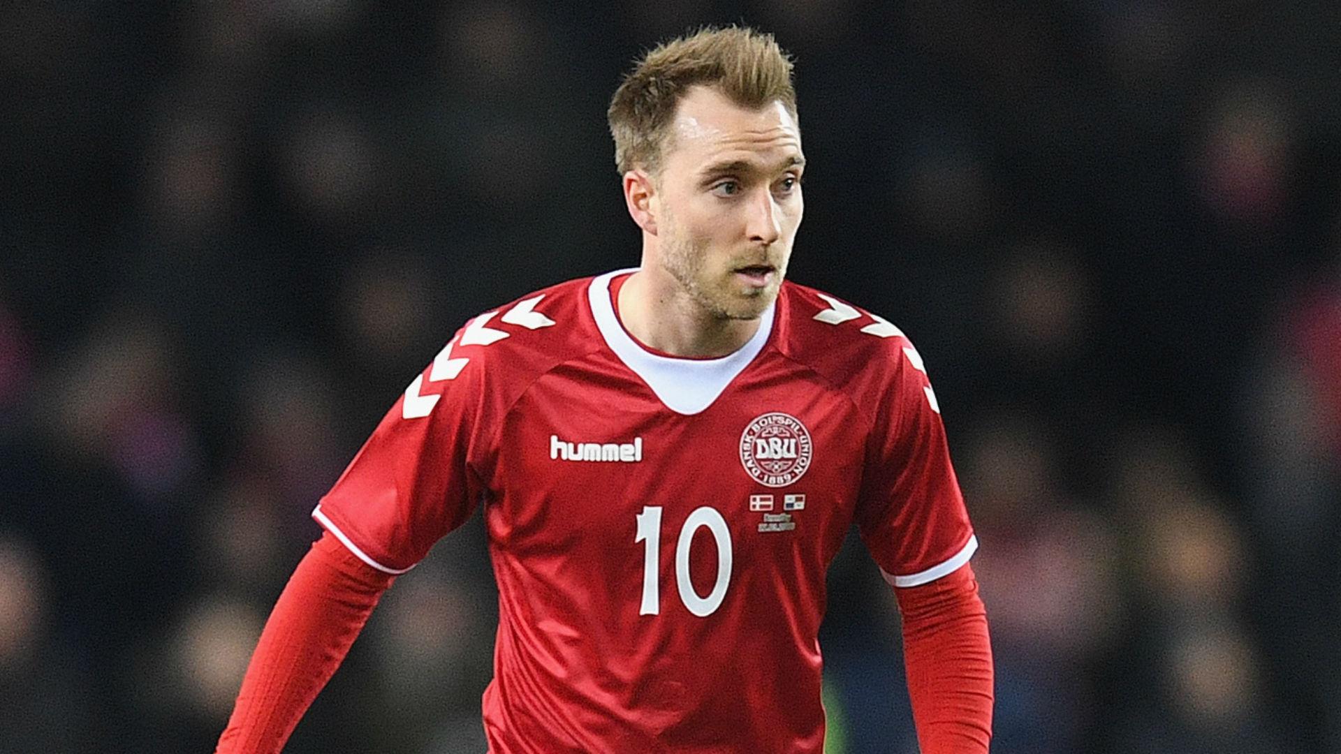 Christian Eriksen Denmark 2018