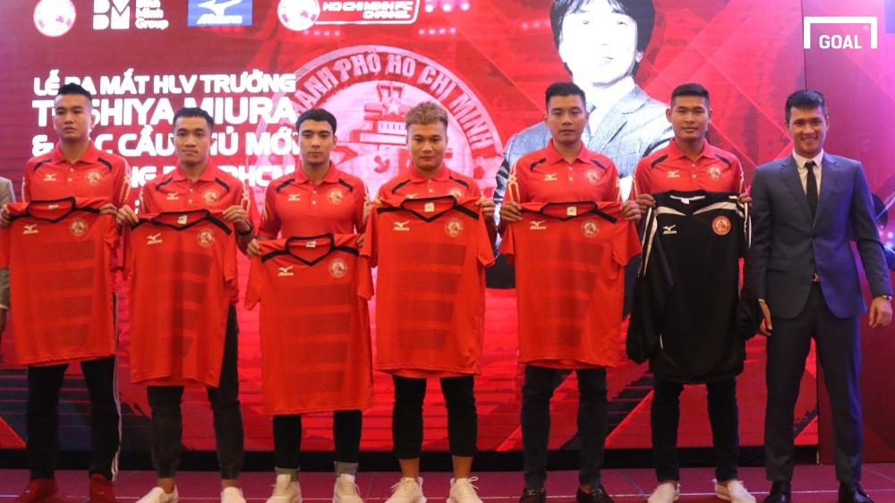 Lễ ra mắt đội hình mới của CLB TP.HCM mùa giải 2018