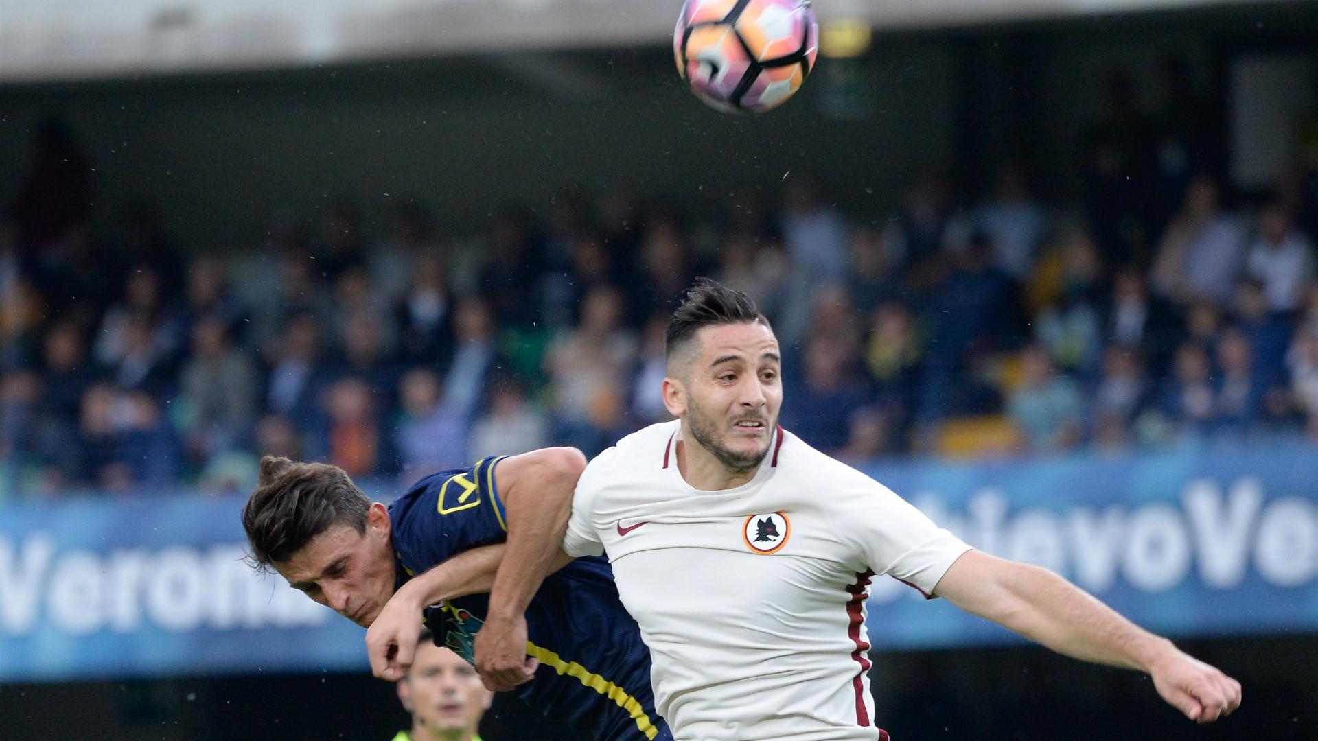 Kostantinos Manolas Roberto Inglese Chievo Roma Serie A