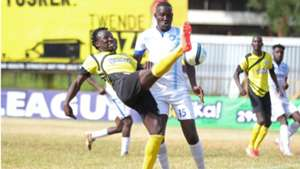 Kepha Aswani of Sofapaka and Cornelius Juma of Nakumatt.