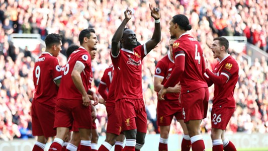 Sadio Mane Liverpool Bournemouth 140418