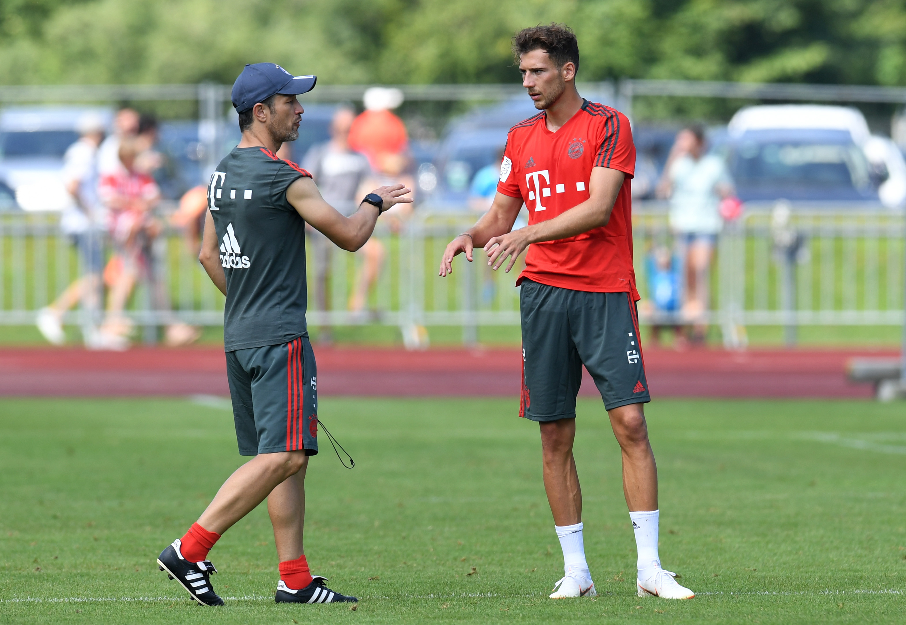 Leon Goretzka Niko Kovac Bayern Munchen