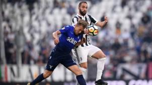 Lucas Leiva Gonzalo Higuain Juventus Lazio Serie A