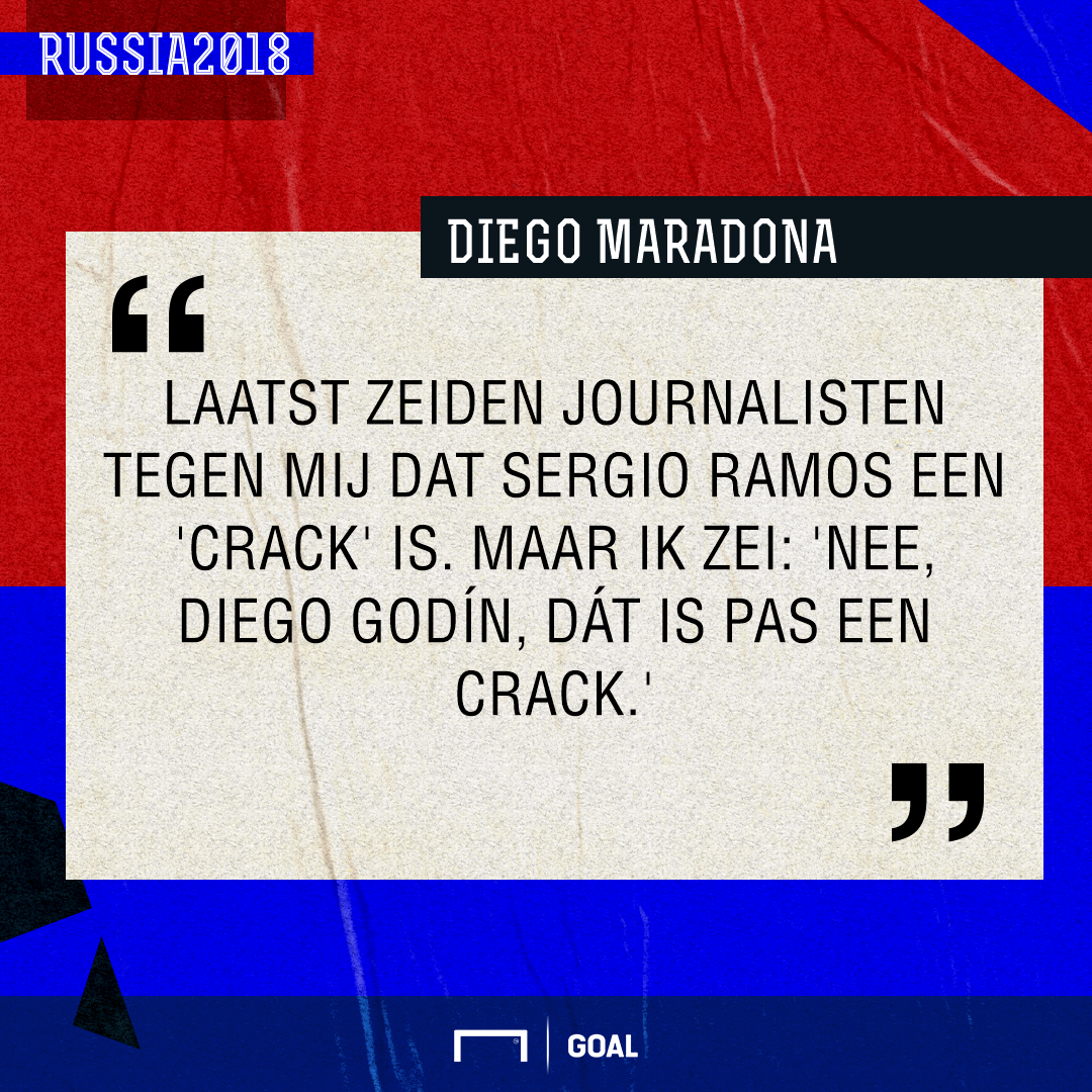 GFX Maradona, Godín