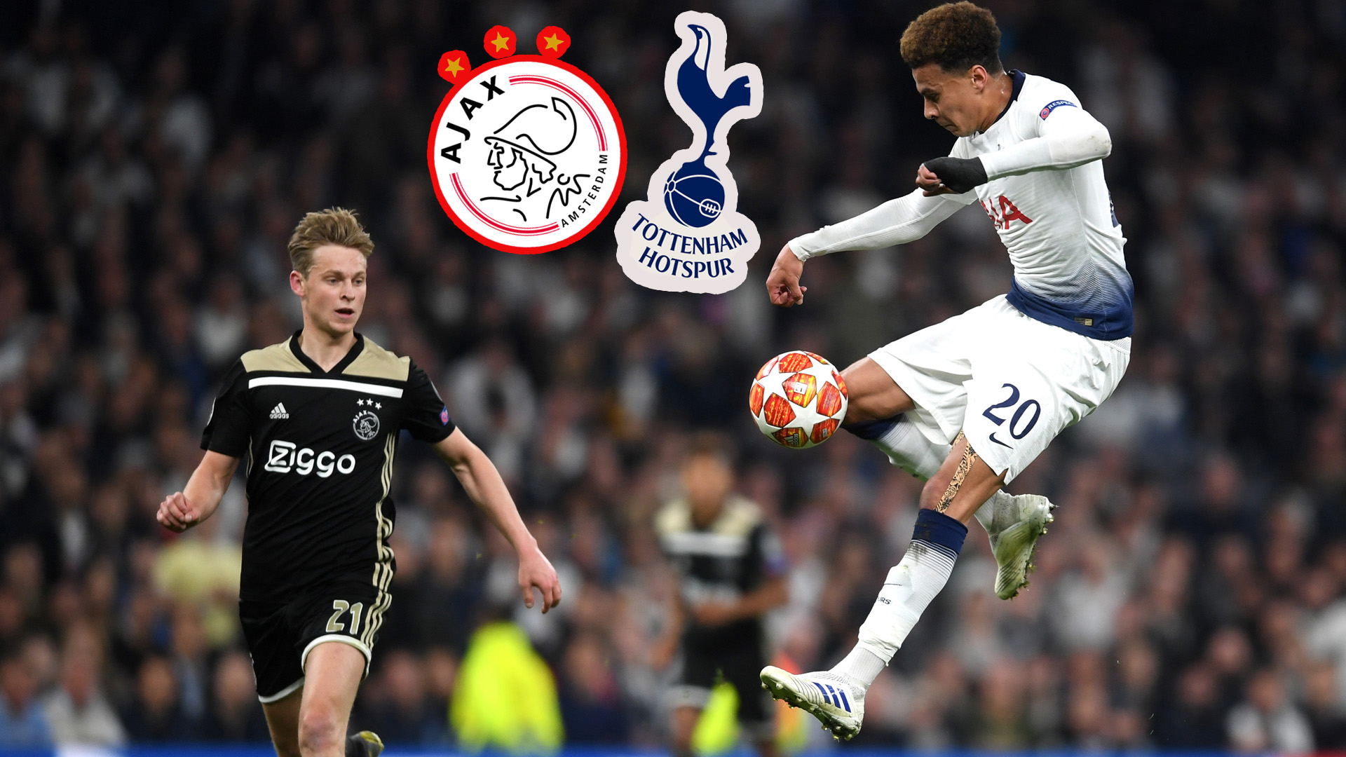 Ajax - Tottenham. En direct et Live streaming: demi ...