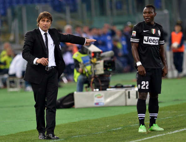 Antonio Conte & Kwado Asamoah