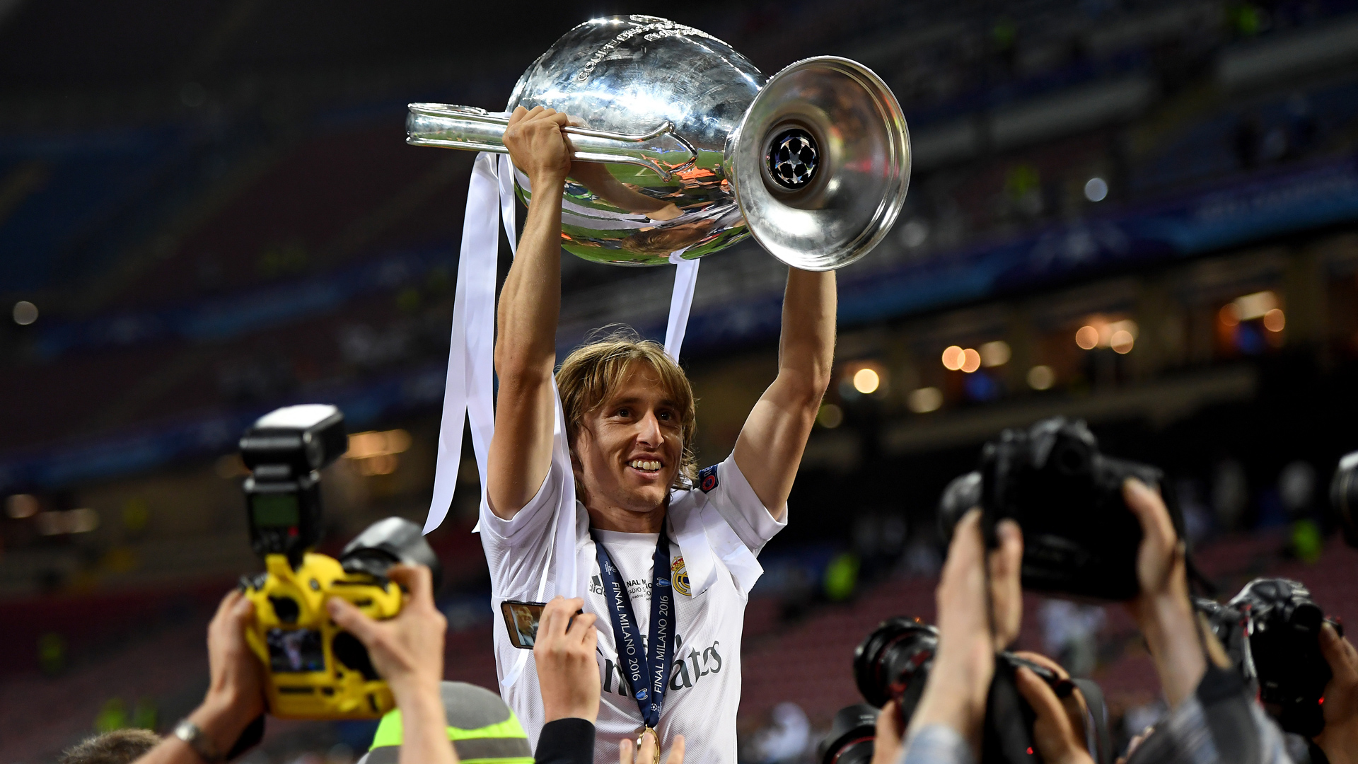 Real Madrid Luka Modric 28052016