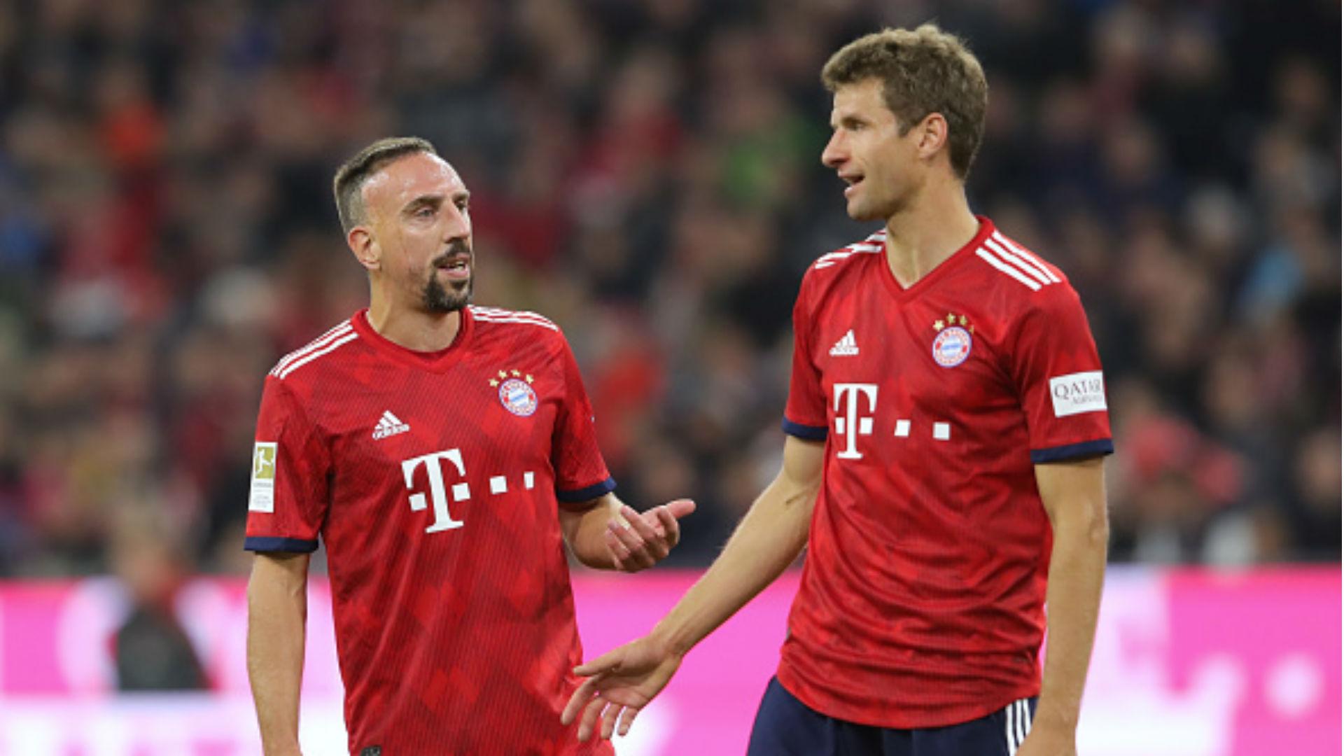 FC Bayern München Franck Ribery Thomas Müller Bundesliga