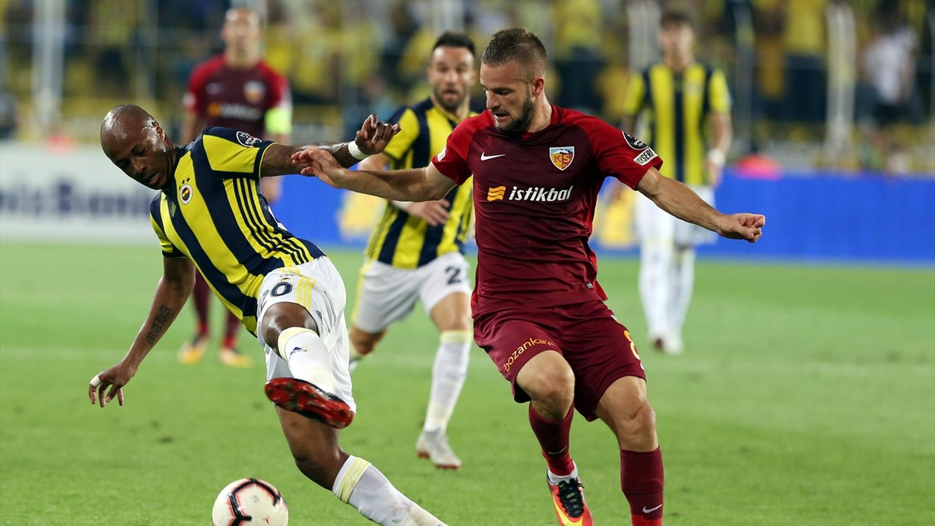 Andre Ayew Atila Turan Fenerbahce Kayserispor 912018
