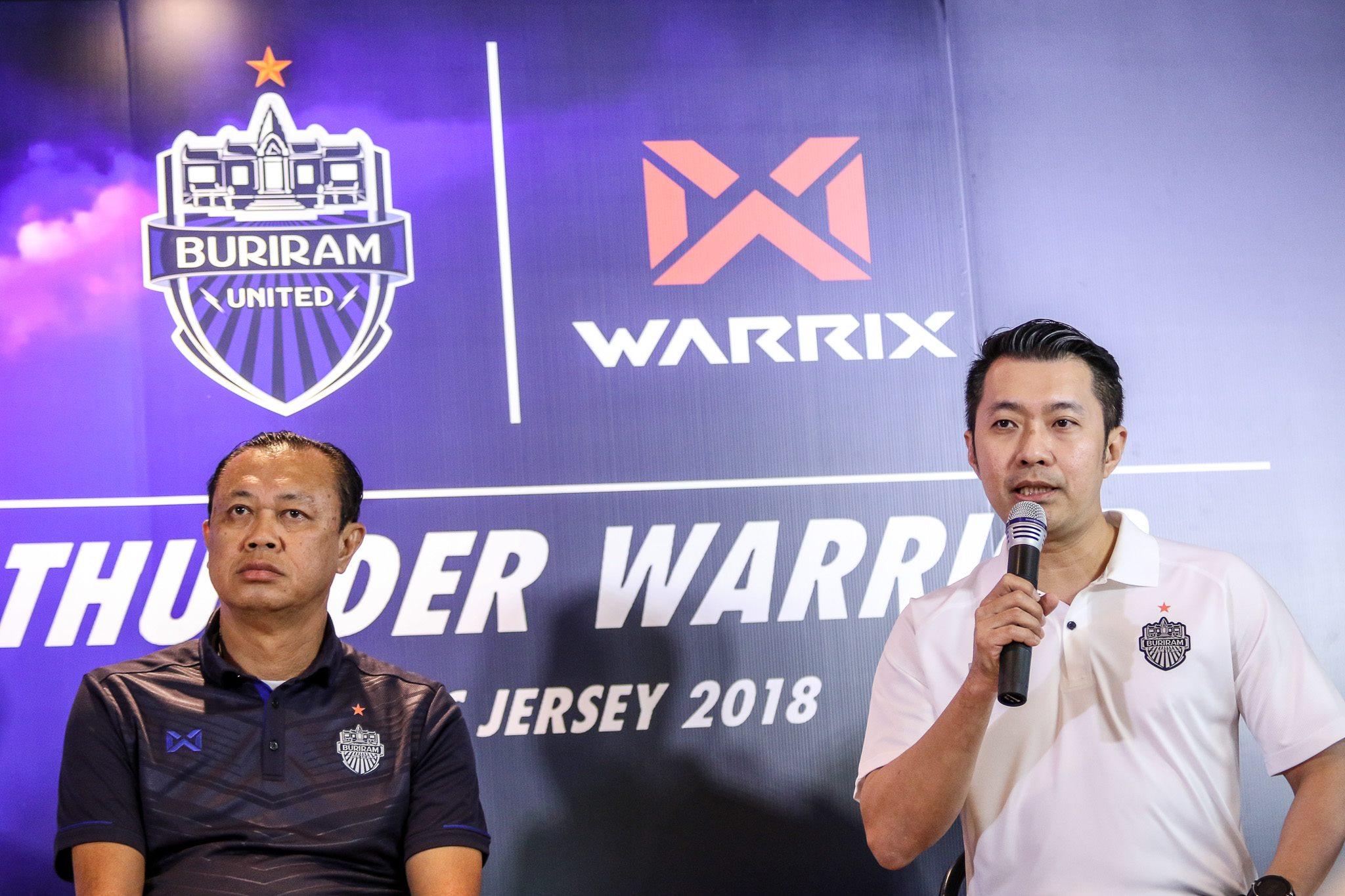 """ส่องชุดแข่งบุรีรัมย์ลุยศึก ACL กับ WARRIX """"THUNDER WARRIOR JERSEY 2018"""""""