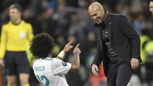 Marcelo Zinedine Zidane Real Madrid
