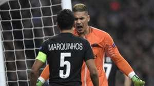 Areola Marquinhos Real Madrid PSG Champions League 14022018