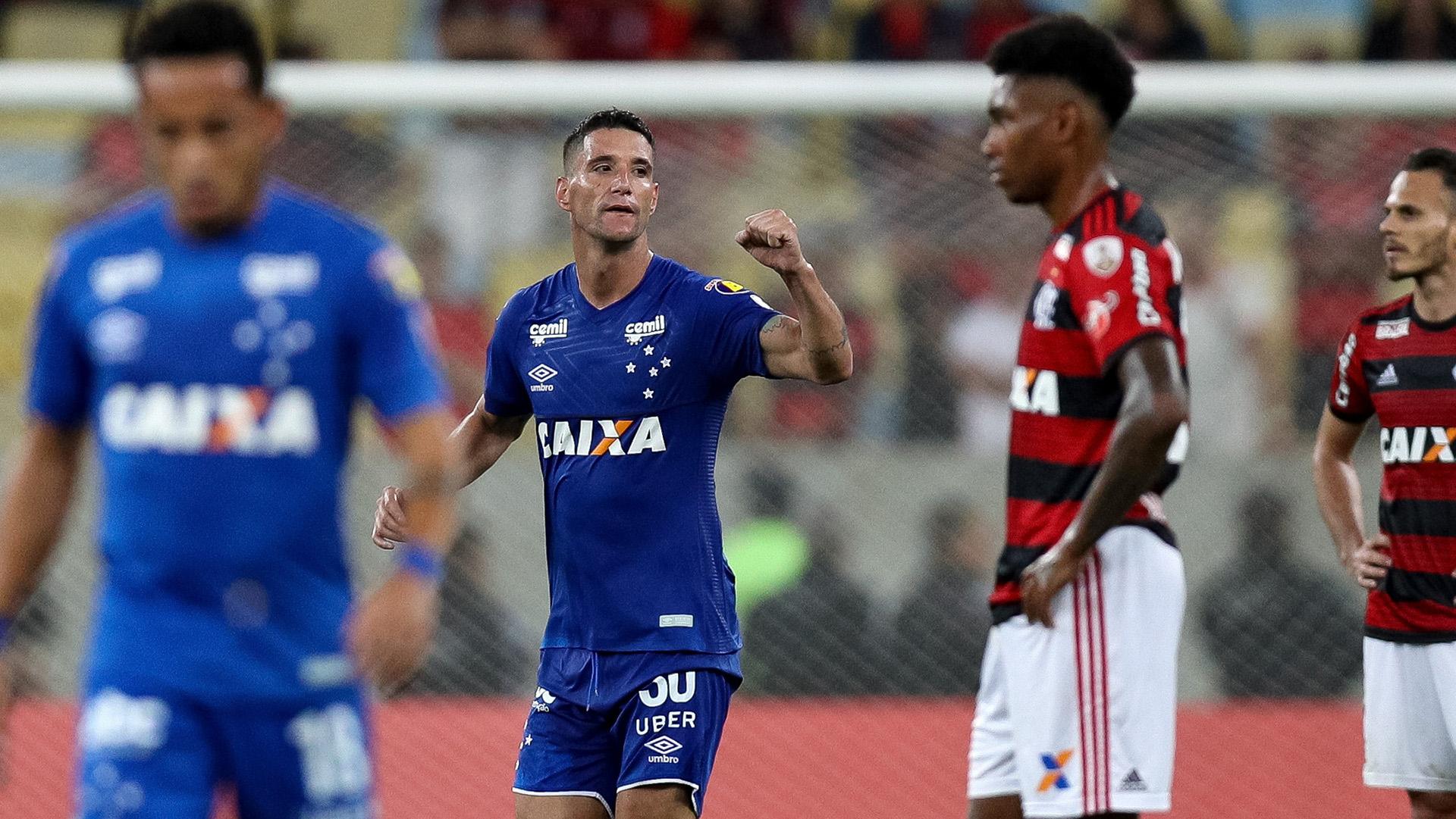 Thiago Neves Flamengo Cruzeiro Libertadores 08082018