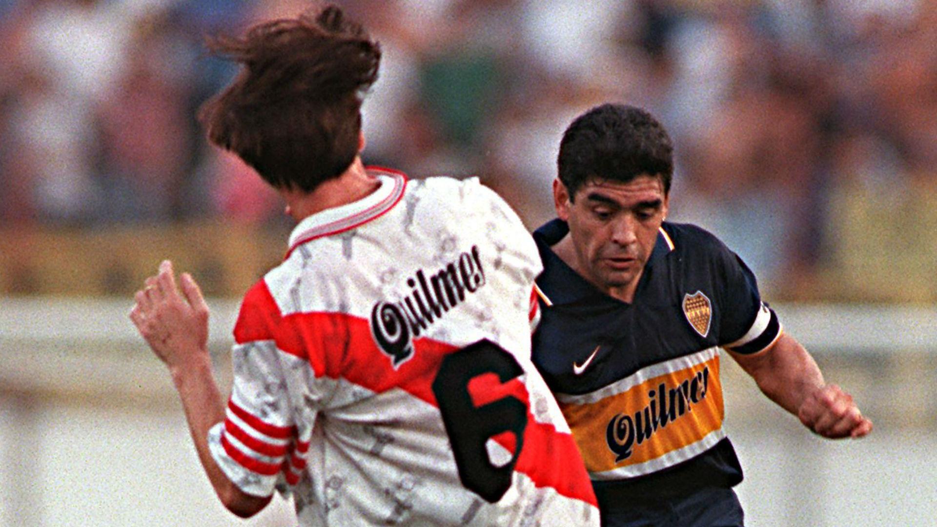 Diego Maradona Boca River 1997